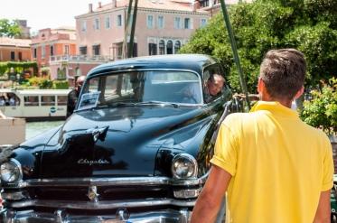 Kubanische Autos für die Biennale