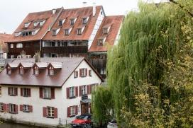 Blick aus Hotelzimmer, Ulm