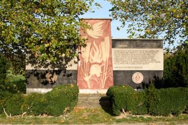 Gedenkstätte für 1500 Rotarmisten in Cobbelsdorf (Sachsen-Anhalt)